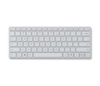 Microsoft Bluetooth Compact Keyboard - Retail Box (Glacier)