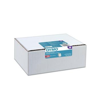 Dymo D1 Black/White 12mm x 7m Pack of 10