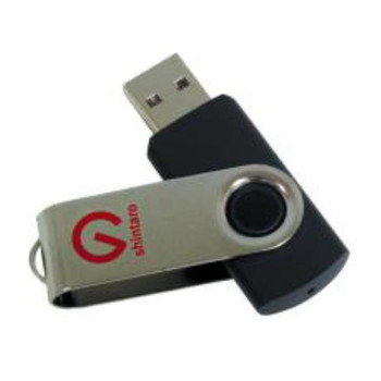 Shintaro 64GB Rotating Pocket Disk USB3.2 (Gen 1) - Backwards compatible  with USB 2.0 & USB 3.0