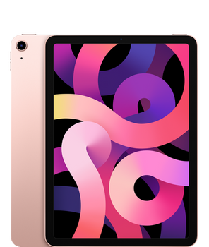 "Apple iPad Air (4th Generation) 10.9"" Wi-Fi 256GB - Rose Gold"