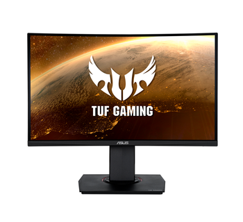 "Asus TUF Gaming VG24VQ 24"" Curved WLED FHD Monitor HDMI DP 3y"