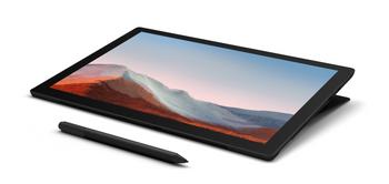Surface Pro 7+, I5, 8gb, 256gb Black W10p, 2y