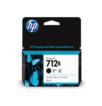 HP 712B 38ml Black DesignJet Ink Cartridge