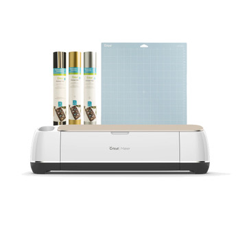Cricut Maker® Machine - Champagne Vinyl BUNDLE