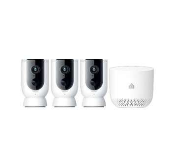 TP-Link Kasa Smart Wireless Camera System 3-pack with Hub