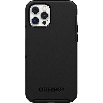 Otterbox Symmetry Series Case (Black) for iPhone 12 / iPhone 12 Pro