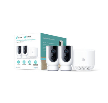 TP-Link Kasa Smart Wireless Camera System 2-pack with Hub