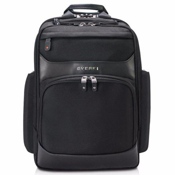 Everki Onyx premium Travel Friendly Laptop Backpack, up to 17.3-Inch (EKP132S17)