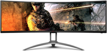 "AOC AGON AG493UCX 124.46cm 49"" Curved Gaming Monitor"