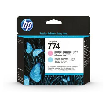 HP 774 Light Magenta/Cyan DesignJet Printhead