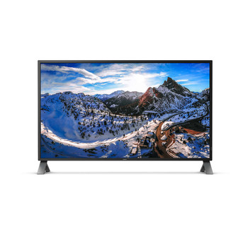 """Philips 438P1/75 43"""" 4K UHD IPS W-LED Monitor with MultiView"""