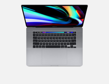 CTO 16-inch MacBook Pro with Touch Bar/Space Grey/Core i7 2.6GHz/16GB/512GB SSD storage/Radeon Pro 5500M 8GB/Backlit KB/