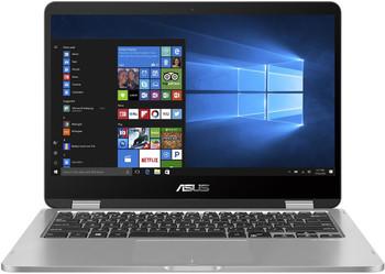 """Asus VivoBook Flip TP401MA Celeron N4020, 14"""" HD Touch Notebook PC, 64gb Emmc, 4gb Ram, Intel Hd, W10p, 1yr, Grey"""