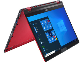 "Fujitsu U9310x Red 13.3"" FHD Touch Notebook PC, I7-10610u, 16gb Ram, 512gb Ssd, Pen, Palm, W10p, 3yr"