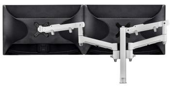 Atdec Dual Dynamic Desk Mount Silver