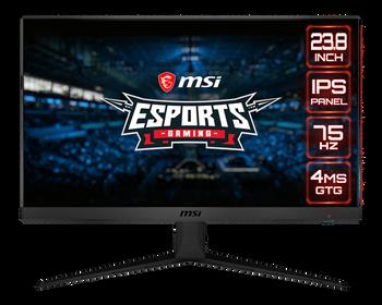 """MSI OPTIX G241V Flat/24"""" IPS/75 Hz Gaming Monitor"""