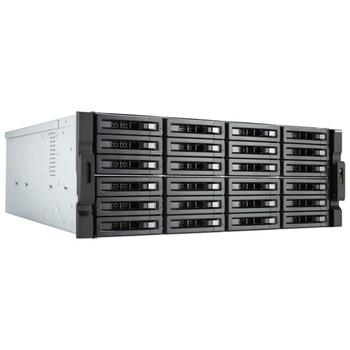 Qnap 24-bay Nas (no Disk), Xeon 6-core 3.3ghz, 16gb, 10gbe Sfp+(2), Gbe(4), 4u, 3yr Wty