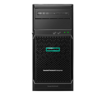 HPE ML30 GEN10 E-2234,16GB (1/4), SATA-LFF-3.5 HP (0/4), S100I, NO CD, TWR, 1YR