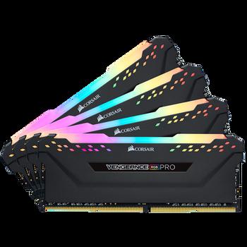 DDR4, 3200MHz 32GB 4 x 288 DIMM, Unbuffered, 16-18-18-36
