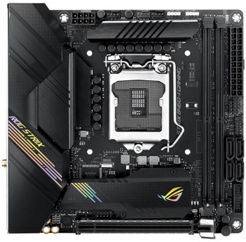 ASUS Intel ROG Strix B460-I Gaming (WiFi 6) B460 LGA 1200 (Intel 10th Gen) Mini- ITX SFF Gaming Motherboard (Intel 1Gb LAN, USB 3.2 Gen 2)