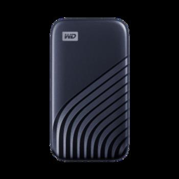 MY PASSPORT SSD 500GB BLUE, 5Y