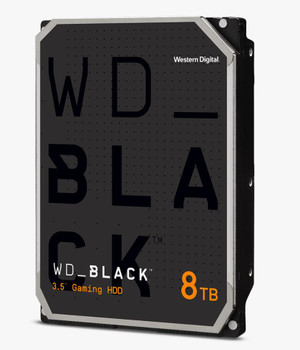 WD Black, DESKTOP, 8TB, 3.5 form factor, SATA interface, 7200 RPM, 256 cache, 5 yrs warranty