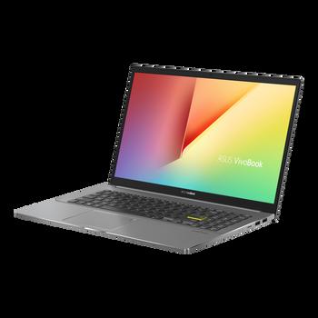 Vivobook S, i5-1135G7, Win10-H, 15.6 FHD, 8GB DDR4, 512G PCIE, , 1x HDMI 1.4, 2x USB 2.0, 1x USB 3.2, 1x USB-C, Indie Black, 1 Yr PUR
