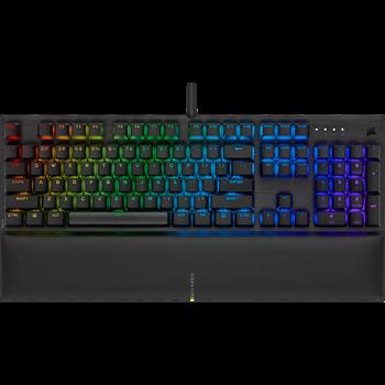 CORSAIR K60 RGB PRO SE Mechanical Gaming Keyboard, Backlit RGB LED, CHERRY VIOLA Keyswitches, Black