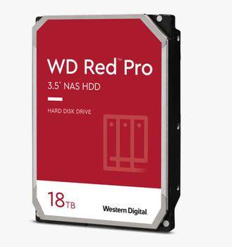 WD Red Pro,18TB, 3.5 form factor, SATA 6 Gb/s, 7200 RPM, 256 cache, 5 yrs warranty
