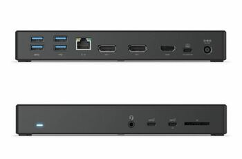 ALOGIC USB-C MA3 Triple Display DP Alt. Mode Docking Station with 100W Power Delivery - 2 x DP and 1 x HDMI with up to 4K 60Hz Support