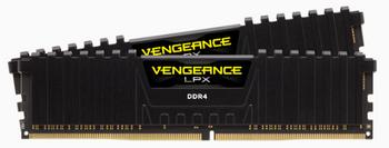 CORSAIR Vengeance LPX DDR4,4000MHz 32GB 2x16GB DIMM,Unbuffered,19-23-23-45,XMP 2.0, Black,1.35V,includes 1x airflow fan