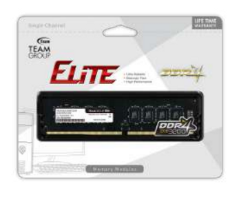 TEAM Elite 16GB DRAM 2666MHz DIMM