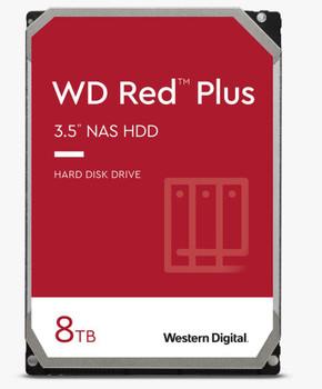 WD Red NAS Hard Drive, 8TB, SATA III 6 Gb/s, 3.5in, 256MB Cache, 3 years