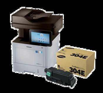 Samsung ProXpress M4580FX Printer + MLT-D304E Extra High Yield Toner