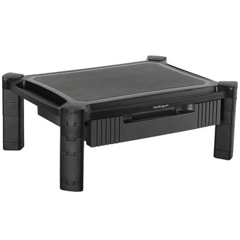 Startech.com Computer Monitor Riser Stand With Drawer - Height Adjustable 5 Yr