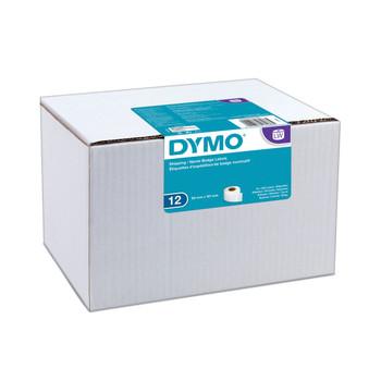 Dymo LabelWriter Standard Shipping Labels Bulk 54mm x 101mm - 12 Rolls