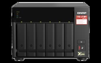 Qnap 6-bay Nas (no Disk), Amd Qc 2.2ghz, 8gb, 2.5gbe(2), M.2(2), Twr, 3yr Wty