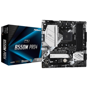 ASRock B550m Pro4 AMD Compatible Motherboard