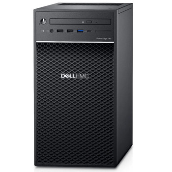 """Dell PowerEdge T40 Tower Server, E-2224g(1/1), 8gb(1/4), 1tb Nhp Sata 3.5""""(1/3), 300w(1/1), 1y Parts Only"""