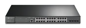 TP-Link Tl-sg3428mp Jetstream 28-port Gigabit L2 Managed Switch with 24port Poe+