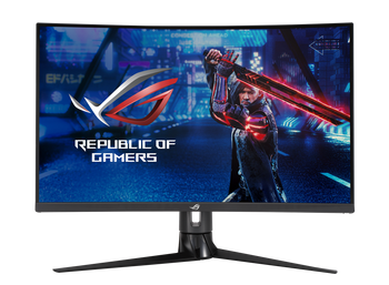 "Asus ROG XG32VC 32"" 2k Curved Gaming Monitor 2560x1440, 1ms, 170hz, 3000:1,dp, Usb-c, Hdmi, H/adj, 3yr"