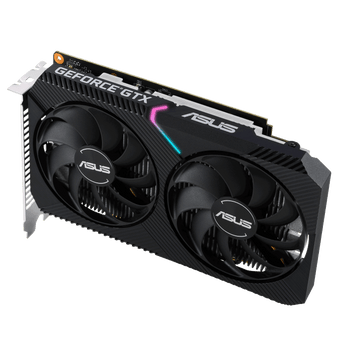 Asus Dual GeForce GTX1650-O4GD6 4GB GDDR6 Mini Graphics Card