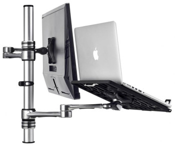 Atdec Combo Notebook/Monitor Desk Mount