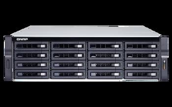 QNAP 16-bay Nas (no Disk), Xeon Qc 3.3ghz, 16gb, 10gbe Sfp+(2), Gbe(4), 3u, 3yr Wty