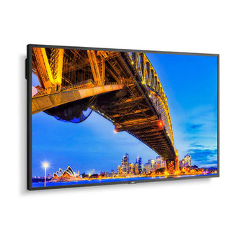 "NEC ME501 50"" 4K Ultra High Definition Commercial Display / 18/7 Usage / 16:9 / 3840x2160 / 400 cd/m2 / Landscape/Portrait / HDMI/DP Input"