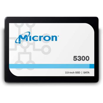 """Micron (5300pro) 3.84TB 2.5"""" Sata Enterprise SSD, 540r/520w, 3yr Wty"""