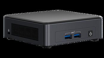 """Intel NUC Mini PC Kit, I3-1115g4, Ddr4(0/2), M.2(0/1), 2.5""""(0/1), Wl-ax, No Cord, 3yr Wty"""