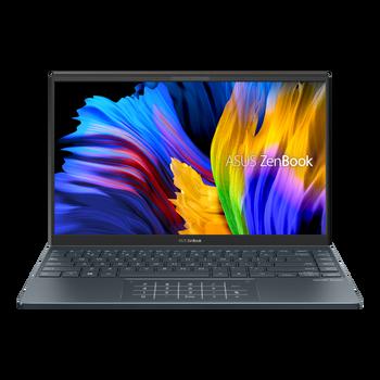 """Asus ZenBook 14 UM425UA Notebook PC R7-5700, 14"""" FHD, 512 Ssd, 16gb Ram, Intel Hd Numpad, W10h, 1yr (Pine Grey)"""