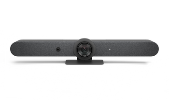 Logitech Rally Bar All In One 4K Ultra HD Video Bar, built In Speaker & Mic, graphite-2yr Wty