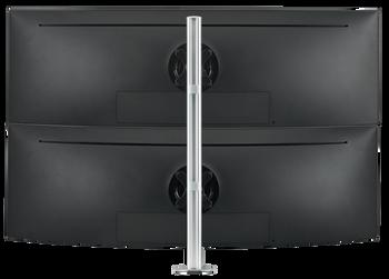 Atdec Dual Stack Desk Mount Black